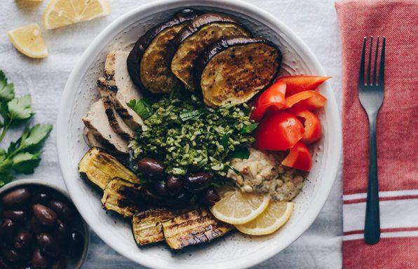 Mediterranean Rice Bowl
